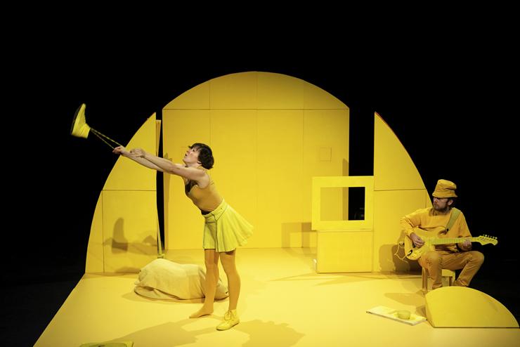 Beeld uit voorstelling Geel, gele wereld